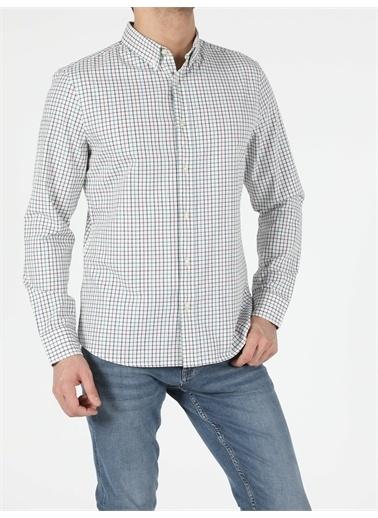 Colin's CL1053593_Q1.V1_WHT Erkek Uzun Kol Gömlek Beyaz